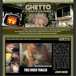 New Ghetto Confessions Porn