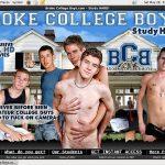 Real Broke College Boys Accounts