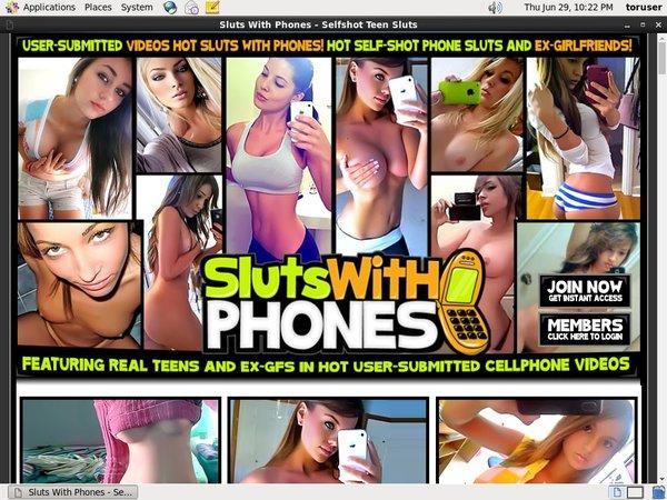 Sluts With Phones Account Premium