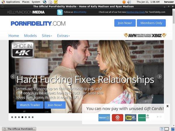 Free Porn Fidelity Porn Accounts