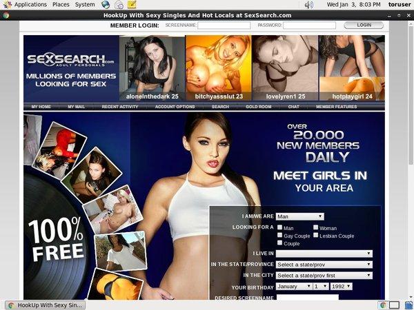 Sexsearch.com Members Area