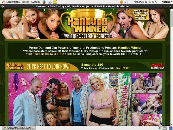 Handjobwinner.com With Online Check